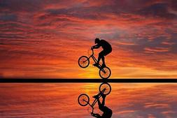 157290 BMX Freestyle Bike Racing Decor Wall Print Poster CA