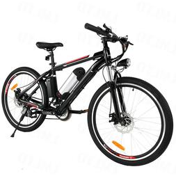26INCH  Electric Bike Mountain Bicycle EBike SHIMANO 21Speed
