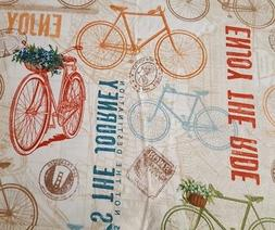 "27"" Life... Enjoy the Ride Tina Higgins Quilting Treasures B"