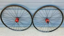 "29"" bike wheels wtb XC21 TCS tubeless compatible 6 bolt disc"
