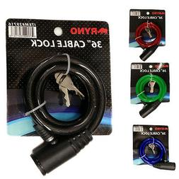 """36"""" Bicycle Bike Anti-Theft  Security Steel Cable Lock Chain"""