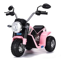 6V Kids Ride On Motorcycle Battery Power ElectricToy 3 Wheel