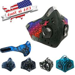 Anti Dust cover w/ Carbon Filters  Bicycle Sports Breathable