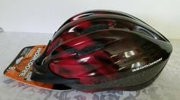 mongoose bicycle adjustable straps safety helmet 8+ youth si