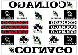 Colnago Bicycle Bike Frame Decals Stickers Adhesive Graphic