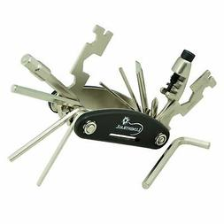 Lumintrail Bicycle Multi Tool Lightweight Compact 18-Functio