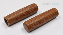 BROWN  CLASSIC CITY BAR  GRIPS 115 x 21mm BICYCLE  GRIPS