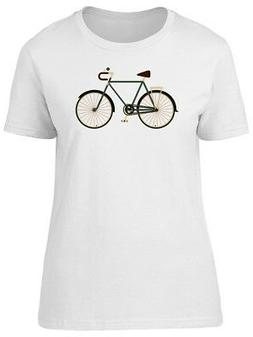 Cool Old Bicycle Doodle Women's Tee -Image by Shutterstock