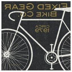 Fixed Gear Bike Co Poster Print