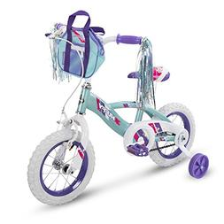 "Huffy 12"" Glimmer Girls Bike, Sea Crystal"