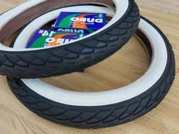 Kids Bicycle White Wall Tires and Tubes 14x1.75 Fits 1.95 2.
