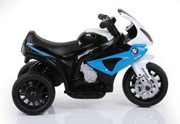 Kids Ride On Motorcycle BMW Licensed 6V Electric 3 Wheels w/