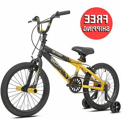 18 inches rampage boys bike with removable