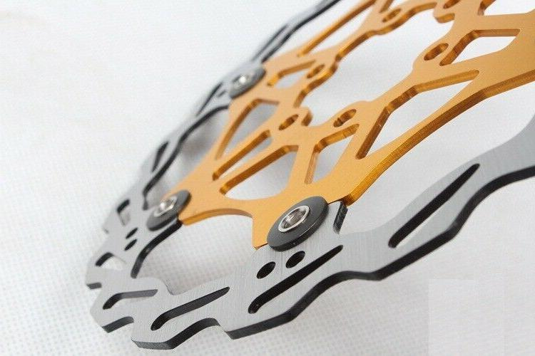MTB Hydraulic Disc Brakes Calipers Front Gold