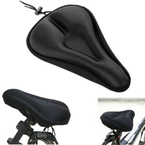 black comfortable durable bike bicycle seat cover
