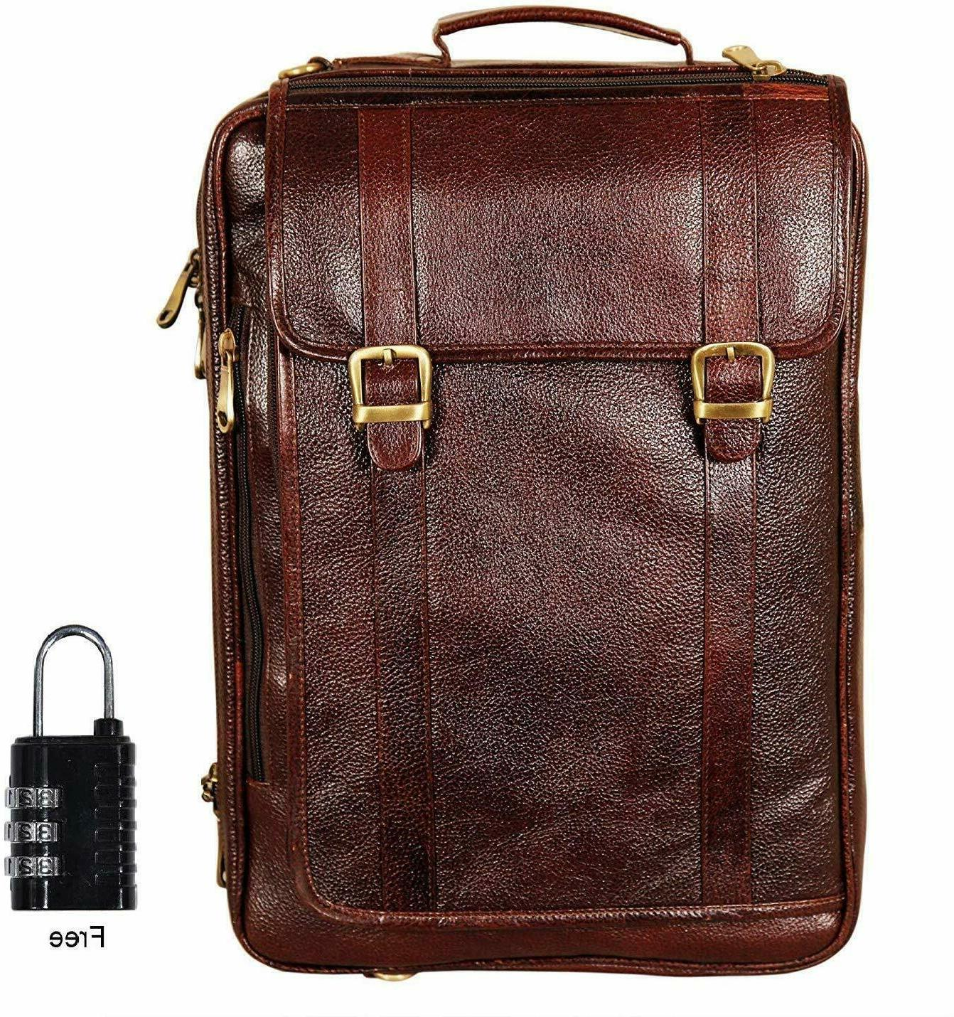 leather bag 18 inch 4 use leather