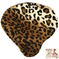 CRUISER CANDY LEOPARD BICYCLE SADDLE SEAT COVER