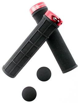 ORBEA LOGO Bicycle Bike 22.2 Handlebar Lock-On Grips Flat MT