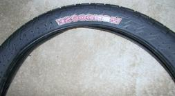 Mongoose Bicycle Tire 18 x 2.0 BMX Bike Tire with Purple Let