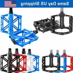 mountain bike pedals aluminum alloy cycling sealed