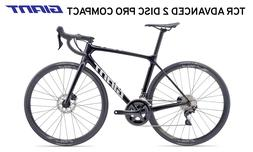 NEW GIANT TCR ADVANCED 2 Disk Pro Compact Metallic Black Men