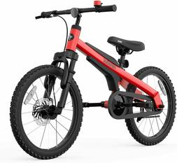 Red Segway Ninebot Kids Bike Boys Girls Fat Tire Bike 18 inc