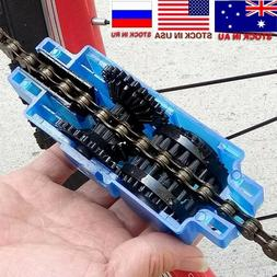 Portable Bicycle Chain Cleaner Brushes Cycling kit. FAST SHI