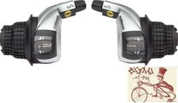 Shimano Revo SL-RS45 8-Speed Shifter Set Right & Left with C