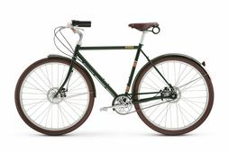 Raleigh Tourist 3 speed bike New Leather Saddle Fenders Bell