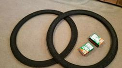 TWO DURO 29X2.10  BICYCLE TIRES BLACK & 2 TUBES