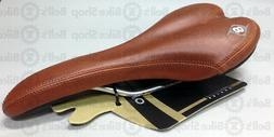 Origin8 Pro Uno Bicycle Saddle CLASSIC BROWN Road Track Fixe