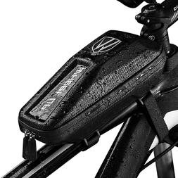 Waterproof EVA Bike Bag Bicycle Top Tube Front Frame Phone H